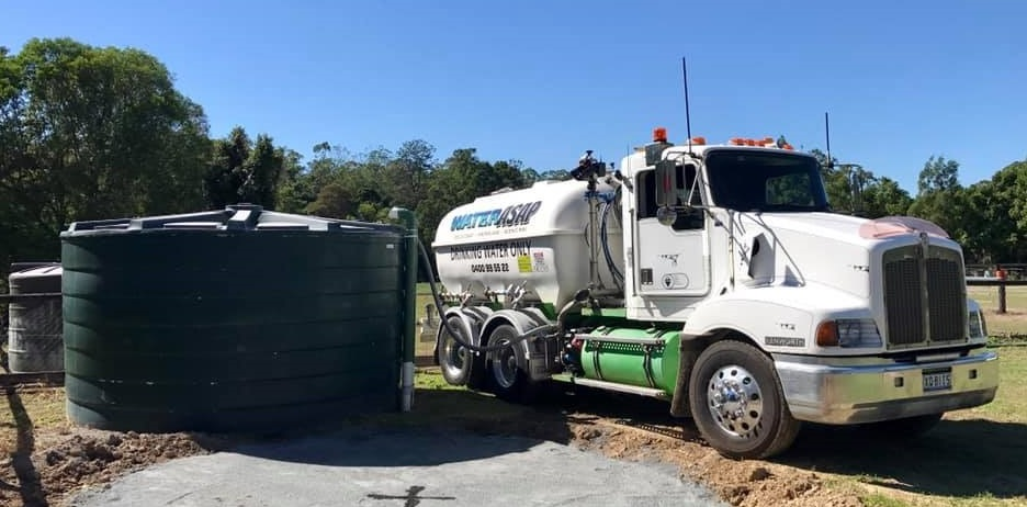 Water Tanker delivery Hinterland